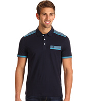 Original Penguin - Classic Fit Color Block Polo w/ Contrast Stitching