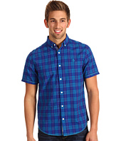 Original Penguin - S/S Plaid w/ Cover-Stitching