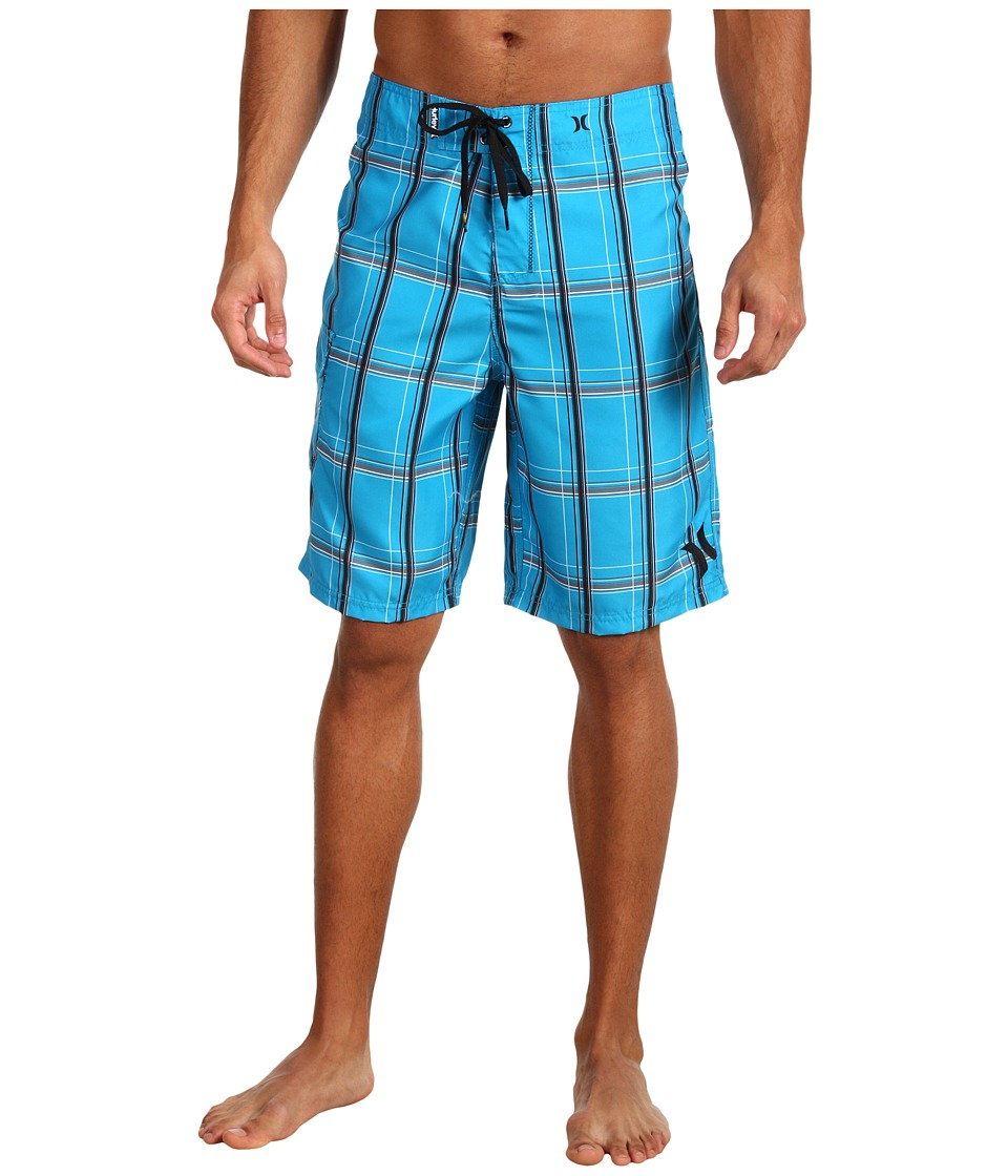 Hurley - Puerto Rico Boardshort (Cyan) Mens Swimwear