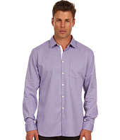 John Varvatos Star U.S.A. - Slim Fit Striped Placket Detail Shirt