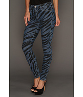 Hudson - Nico Mid Rise Super Skinny in Black Blue Zebra