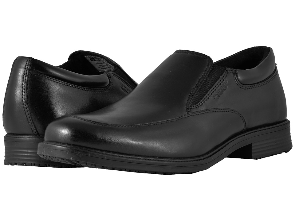 Rockport Essential Details Waterproof Slip On Black Mens Slip on Shoes