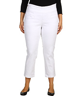 Jag Jeans Plus Size - Plus Size Carrie Pull-On Slim Ankle in White