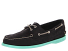 Sperry Top-Sider - A/O 2 Eye (Black (Jade)) - Footwear
