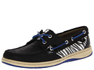 Sperry Top-Sider - Bluefish 2-Eye (Black/Zebra (Sequins)) - Footwear