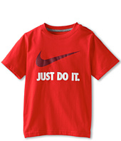 Nike Kids - QT JDI Swoosh S/S Crew Tee (Little Kids/Big Kids)