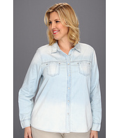 DKNY Jeans - Plus Size Denim Shirt