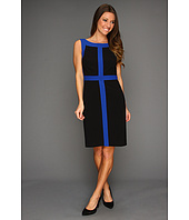 Ellen Tracy - Sleeveless Splice Dress