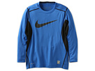 Nike Kids Core Fitted Swoosh Long Sleeve Top