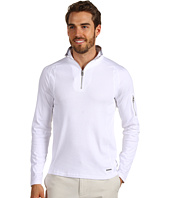 Calvin Klein - L/S Half Zip Pique/Rib (Liquid Cotton)