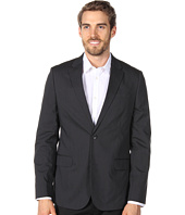 Calvin Klein - Slim Tech Poplin Two Button Pinstripe Jacket