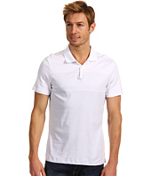 Calvin Klein - S/S Engineered Stripe Liquid Cotton Polo