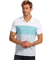 Calvin Klein - S/S Engineered Interlock Liquid Cotton Polo