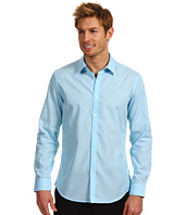 Calvin Klein - Slim Fit L/S End On End Poplin Woven Shirt w/ Contrast
