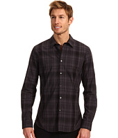 Calvin Klein - Slim Fit L/S Yarn Dye Oversized Plaid Poplin