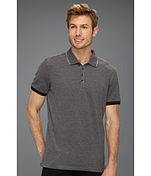 Calvin Klein - S/S 4 Button Yarn Dye Oxford Pique Polo