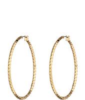 Jessica Simpson - Hoopla Scalloped Hoop Earrings