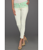 Hudson - Krista Super Skinny Crop in Pale Jade