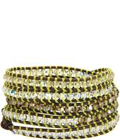 Chan Luu - Wrap with Swarovski Crystals/Natural Grey-BS-3316