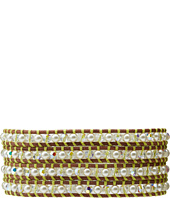 Chan Luu - Wrap with Swarovski Pearls and Crystals/Natural Brown-BS-3390