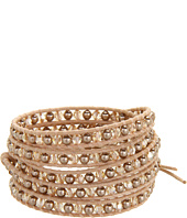 Chan Luu - Wrap With Swarovski Pearls and Crystals/Natural Brown-BS-3438