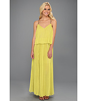 BCBGMAXAZRIA - Joelle Tiered Maxi Pleated Dress