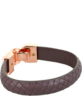 Linea Pelle - Leather Bangle with Hook Closure