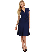 BCBGMAXAZRIA - Lee Short Sleeve A-Line Dress