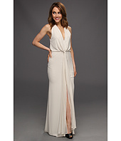BCBGMAXAZRIA - Mara Long-Length Halter Dress