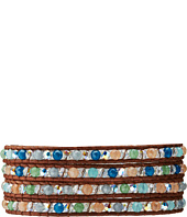 Chan Luu - Wrap with Blue Mix/Natural Dark Brown-BS-3033