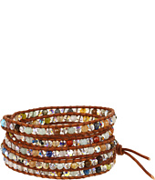 Chan Luu - Wrap with Mutli Stone and Crystals/Natural Brown-BS-3033