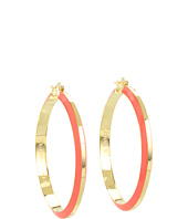 Vince Camuto - Enameled Hoop Earrings