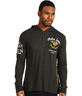Affliction - Indian Larry Shaman L/S Henley Hoodie