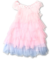 Biscotti - Rococo Rose Tiered Netting Dress (Toddler)