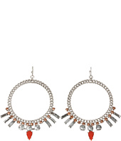 Jessica Simpson - Tropic Nights Hoop Earrings