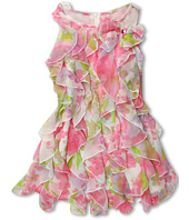 Biscotti - Watercolor Bow Dress (Big Kids)