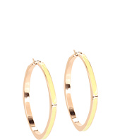 Jessica Simpson - Candy Shop Enamel Hoop Earrings