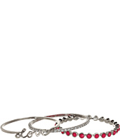 Jessica Simpson - Colorwheel Love Bangle Set