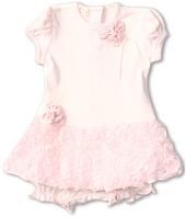 Biscotti - Precious Rose Dress and Bloomer (Infant)