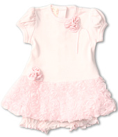 Biscotti - Precious Rose Dress and Bloomer (Newborn/Infant)