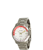 Jack Spade - Clarkson White Face with White/Red Inner Bezel