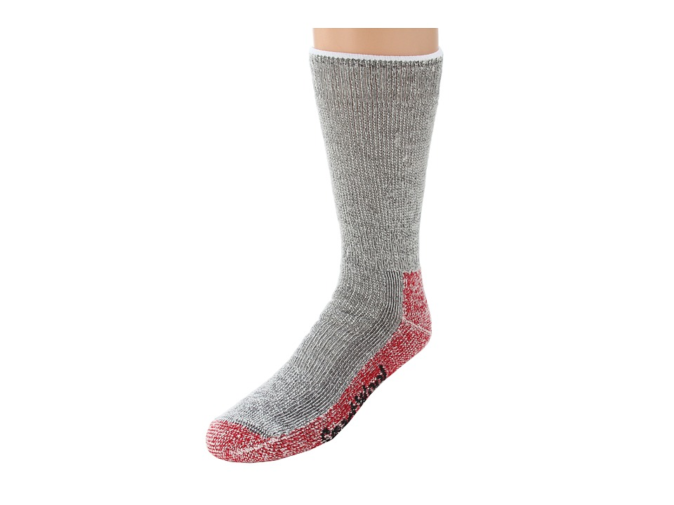 Smartwool - Mountaineering Extra Heavy Crew (Charcoal Heather) Crew Cut Socks Shoes