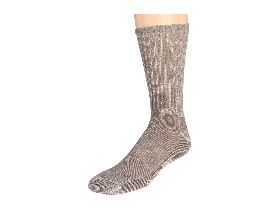 Smartwool - Hike Light Crew (Toddler/Little Kid/Big Kid) (Taupe) Crew Cut Socks Shoes