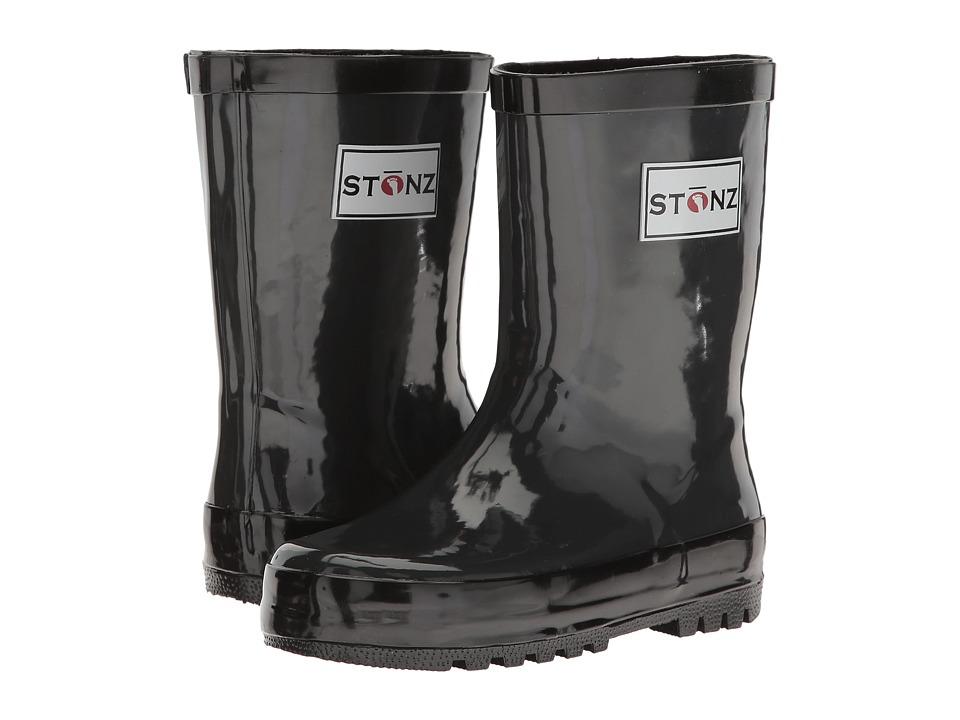 Stonz Rainboots Toddler/Little Kid/Big Kid Grey/Black Kids Shoes