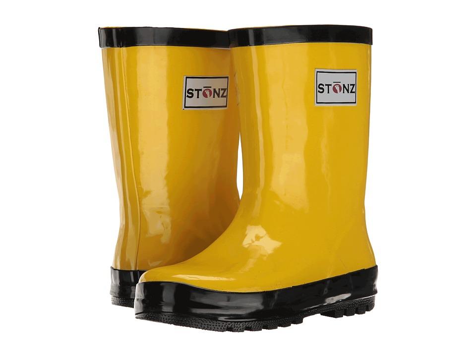 Stonz Rainboots Toddler/Little Kid/Big Kid Yellow/Black Kids Shoes