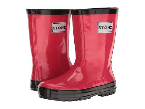 Stonz Rainboots (Infant/Little Kid/Big Kid) - Pink/Black