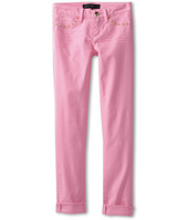 Juicy Couture Kids - Canvas Straight Crop Jean (Toddler/Little Kids/Big Kids)