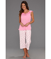 Karen Neuburger - Fly With Me S/L Pullover Crop PJ Set