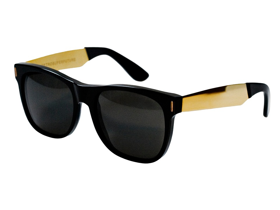 Super Basic Black/Gold Francis Fashion Sunglasses
