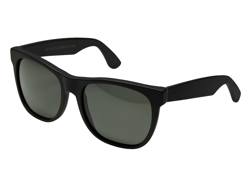 Super - Basic 55mm (Matte Black/Black) Fashion Sunglasses